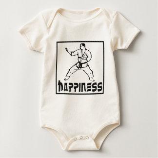 幸福: 武道 ベビーボディスーツ