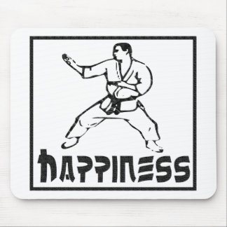 幸福: 武道 マウスパッド