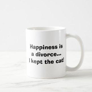 幸福isaの離婚…私は猫を飼いました! コーヒーマグカップ