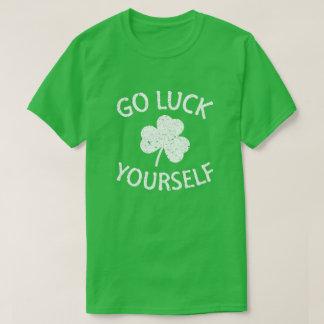 幸運あなた自身-おもしろいなSt patricks day Tシャツ