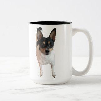 幸運およびTimmyのマグのための特別な要求 ツートーンマグカップ