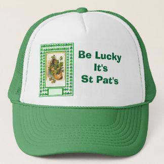 幸運がそれありますSt Patがあって下さい キャップ