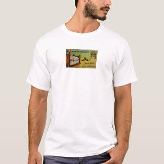 幸運このハロウィン(ヴィンテージのハロウィンカード) Tシャツ
