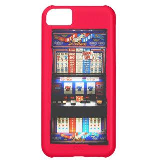 幸運で赤いカジノのスロットマシン iPhone5Cケース