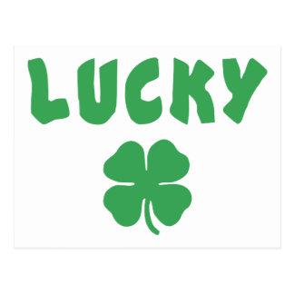 幸運なアイルランドのギフト ポストカード