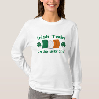 幸運なアイルランドの双生児 Tシャツ