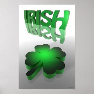 幸運なアイルランド語 ポスター