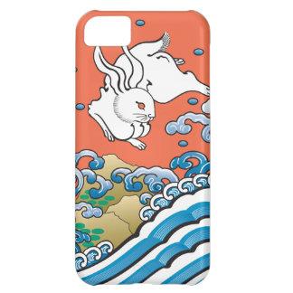 幸運なウサギの赤 iPhone5Cケース
