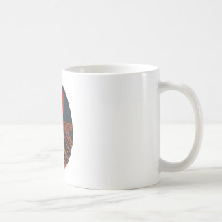 幸運なエジプトのオオタマオシコガネ コーヒーマグカップ
