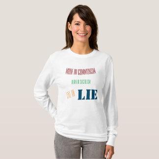 幸運なカルマによって共産主義のTシャツで作られる Tシャツ