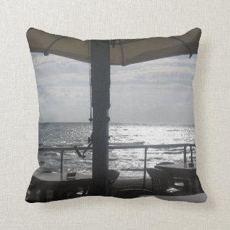 幸運なカルマによる海の枕夏の日没 クッション