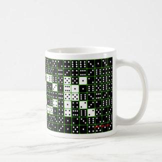 幸運なサイコロ コーヒーマグカップ