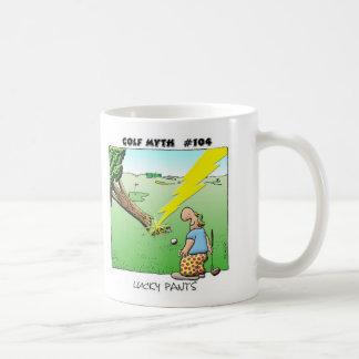 幸運なズボン コーヒーマグカップ