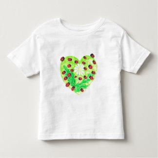 幸運なデイジーの創造 トドラーTシャツ