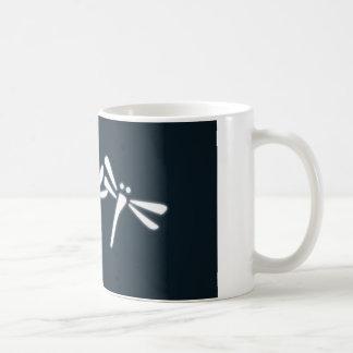 幸運なトンボ コーヒーマグカップ