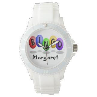 幸運なビンゴの腕時計 腕時計