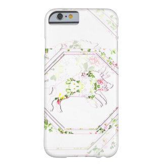 幸運なブタ|の電話箱 BARELY THERE iPhone 6 ケース