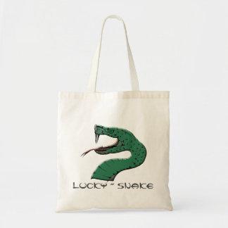 幸運なヘビ|の戦闘状況表示板 トートバッグ