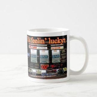 幸運なマグを感じること コーヒーマグカップ