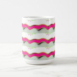 幸運な波 コーヒーマグカップ