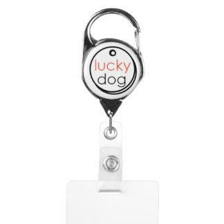 幸運な犬の救助のバッジホールダー IDカードホルダー