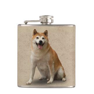 幸運な犬 フラスク