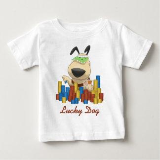 幸運な犬 ベビーTシャツ