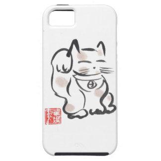 幸運な猫のiPhoneの場合 iPhone SE/5/5s ケース