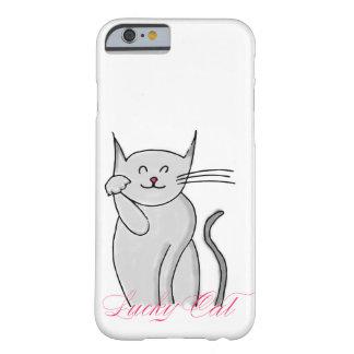 幸運な猫のiPhone 6/6sカバー Barely There iPhone 6 ケース