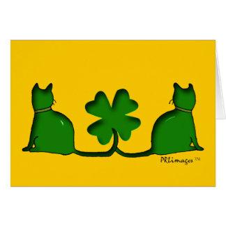 幸運な猫 カード