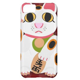 幸運な猫 iPhone5Cケース