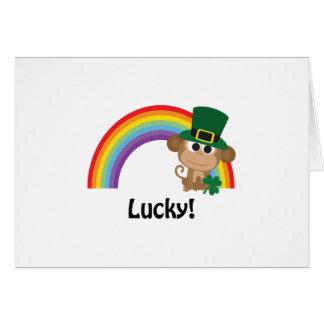 幸運な猿の小妖精 カード