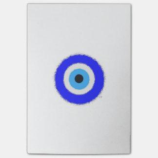 幸運な青い目の後it®ノート4 x 6 ポストイット