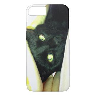 幸運な黒猫 iPhone 7ケース