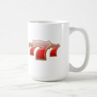 幸運な7 コーヒーマグカップ