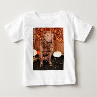 幸運な- Shar Pei - Hildebrand ベビーTシャツ