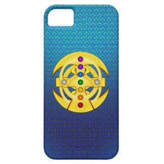 幸運のコプトのスタイルを作られた十字 iPhone SE/5/5s ケース