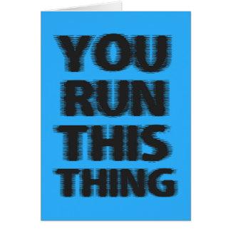 幸運のマラソン選手 カード