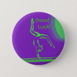 幸運の体育専門家ボタン 5.7CM 丸型バッジ