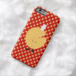幸運の提示の微笑のおみくじ入りクッキー BARELY THERE iPhone 6 ケース