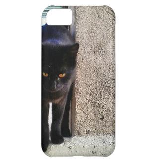幸運の黒猫 iPhone5Cケース