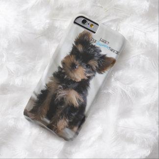 幸運日本のなヨークシャーテリアのiPhoneの例 Barely There iPhone 6 ケース