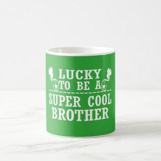 幸運極度のクールな兄弟があるため コーヒーマグカップ