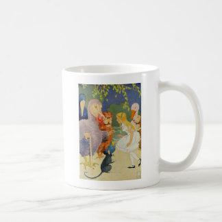 幹部会議の競争のアリスそしてドードーの鳥 コーヒーマグカップ