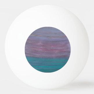 幻の紫色のピンクのターコイズのティール(緑がかった色)は縞で飾ります ピンポン球