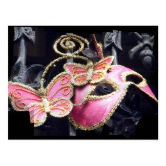 幻影のピンク ポストカード