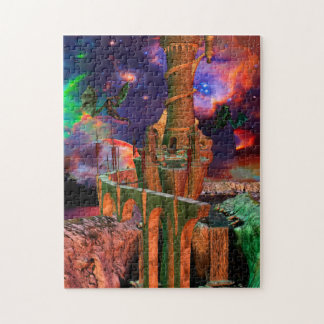 幻想の世界のドラゴンの戦い ジグソーパズル