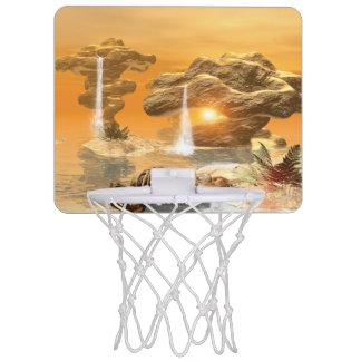 幻想の世界のTレックスの骨組 ミニバスケットボールゴール