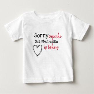 幼児のためのおもしろいなバレンタインデーのワイシャツ ベビーTシャツ