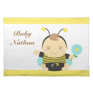 幼児のためのかわいいのまわりにの男の赤ちゃん、 ランチョンマット
